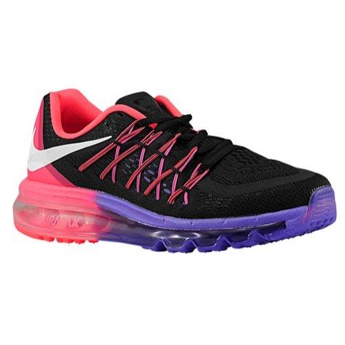Nike WMNS Air Max 2015 Women Running Sneakers New Black H...