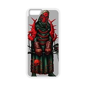 IPhone 6 Plus 5.5 Inch Phone Case for Grim Reaper - Skull pattern design