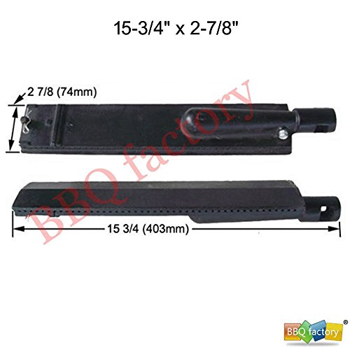 bbq factory K23301(3-pack) Cast Iron Burner for Turbo, Aussie, and Sams Grills