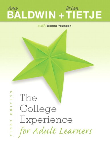 The College Experience for Adult Learners (Experience Franchise)