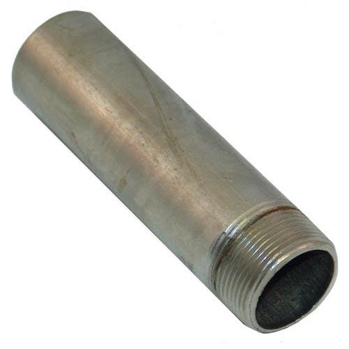 Generic 263427 Extension Drain Pipe Stainless Steel 1-1/4'' Npt X 6'' Fryer