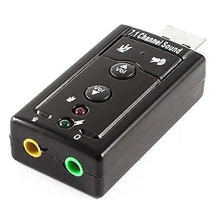 Amazon.com: eDealMax USB 2.0 Virtual 7.1 tarjeta de sonido ...