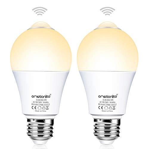 Pir Motion Activated 8 Led White Light