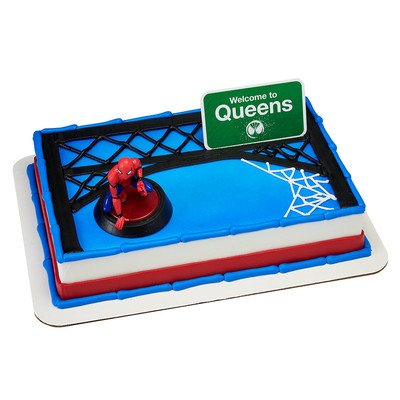 A1 BakerySupplies Spider-Man Homecoming Welcome to Queens Cake Decorating Set -