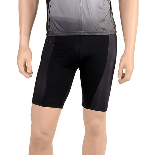 (Cycle Force Men's Triumph Cycling Shorts, Black,)