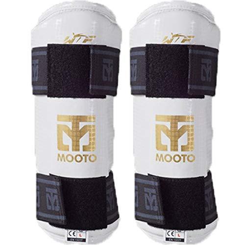 Mooto Korea Taekwondo Extera Forearm Protector Black or White UFC Martial Arts MMA Kickboxing Training Gym School…