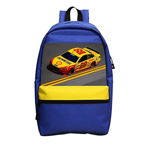 Grrry New Style No.22 Race Car Lightweight Shoulder School Bag Backpack (No One Gives A Shit About Me)