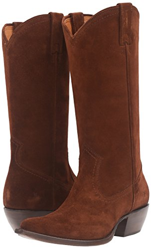 Frye Sacha Tall Mujer US 9.5 Marrón Bota Occidental