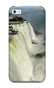 [JEk-743tWPbCwLC]premium Phone Case For Iphone 5c/ Iguazu Waterfalls Tpu Case Cover