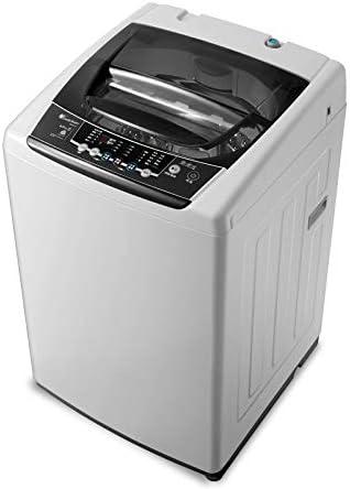 QHGao Mini Lavadora Automática Portátil, Inversor Doméstico De 8 Kg KG, Mini Lavadora Automática con Deshidratación Seca, Adecuada para El Hogar, Camping, Sala De La Universidad, RV