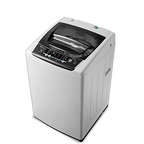 Xinrangxin Portable Mini Automatic Washing Machine, 8 Kg KG Inverter Household Mini Automatic Washing Machine with Dry Dehydration, Suitable for Home, Camping, College Room, RV
