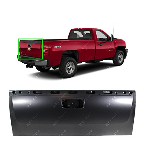 Tailgate Chevy - MBI AUTO - Primered Steel, Tailgate Shell for 2007-2013 Chevy Silverado & GMC Sierra 1500 2500 3500 07-13, GM1900125