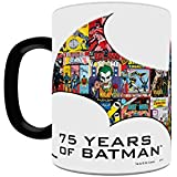 Morphing Mugs DC Comics Justice League (Batman 75th) Ceramic Mug, Black