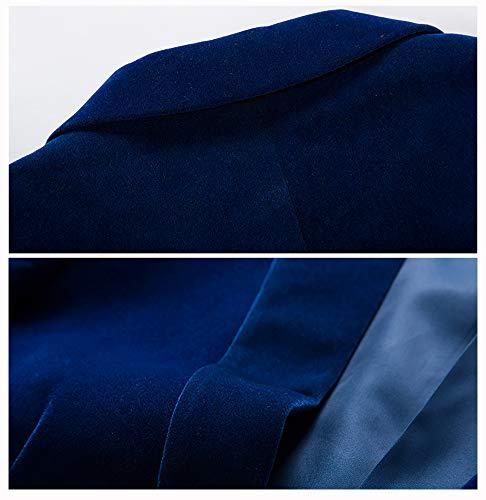 Blazer Bleu Bishe Homme L Bishe Bleu Homme Blazer Bishe L Blazer 1tSzqtxw