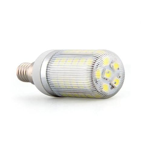 Bombilla Lámpara E14 48 LED 5050 SMD Luz Blanco 6W Bajo Consumo: Amazon.es: Iluminación