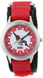Marvel Kids' W000112 Spider-Man Stainless Steel Time Teacher Watch