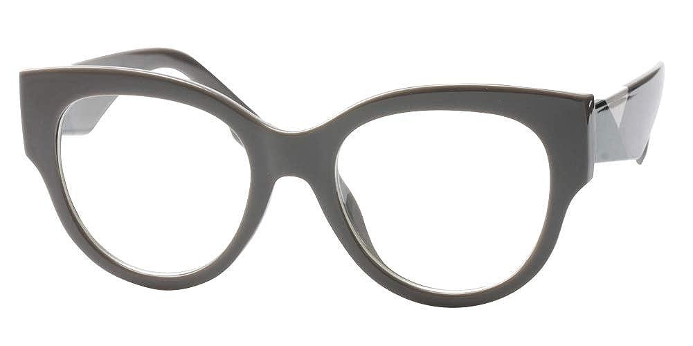 3485a2d37c3b SOOLALA Ladies Modern Fashion Prescription Eyeglass Frame Cat Eye Reading  Glass Black ClearLens 17-661 ...