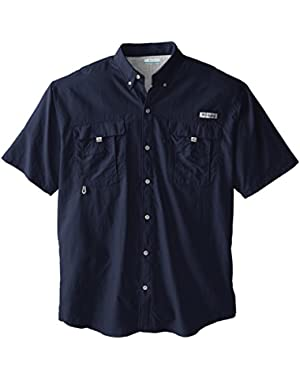 Sportswear Men's Big-Tall Bahama II Short Sleeve Shirt