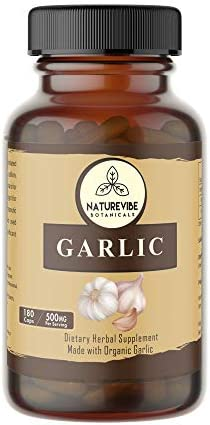 Naturevibe Botanicals 180 Garlic Capsule