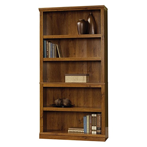 Miscellaneous with 5 Shelves Storage Bookcase - Abbey Oak