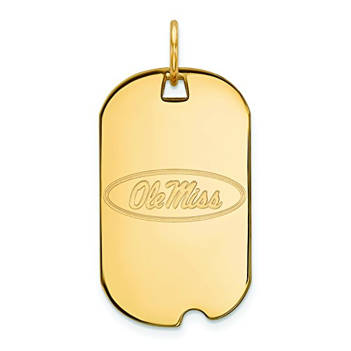 ver w/GP University of Mississippi Small Dog Tag ()