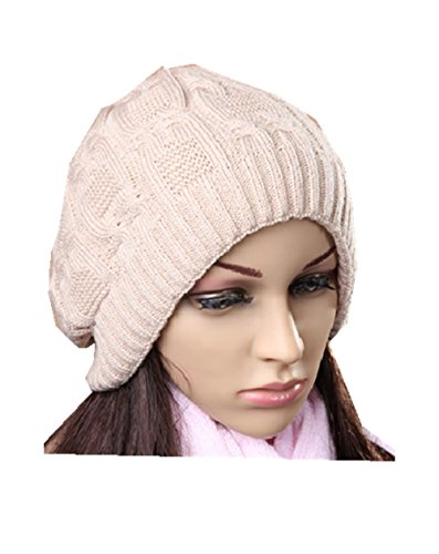 RuSong Beanie Hat For Women/Man Fashion Girl Boy or Girlfriend Gift Lady Warm Knit Thick Winter Cap In Spring Autumn Winter - Headband Of Charisma