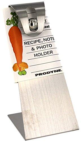 Prodyne RH-22 Stainless Steel Recipe Card Holder ()
