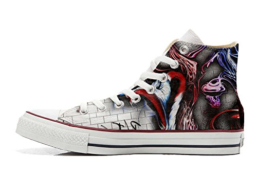 Converse All Star chaussures coutume mixte adulte (produit artisanal) The Wall