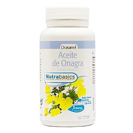 Drasanvi - Aceite de Onagra 150mg - 110 softgels: Amazon.es: Salud y cuidado personal