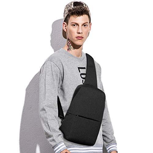 Small Sling Backpack Waterproof Sling Bag One Shoulder Crossbody Backpack Bag for Men & (Everyday Sling Bag)