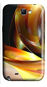 3D Abstract Designs PC Case and Cover for Samsung Galaxy Note 2/ Note II/ N7100