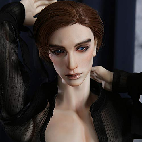 1/3 BJD Doll 70CM SD Dolls Ball Jointed Doll Full Set Handsome Man with Clothes Outfit Shoes Wig Hair Makeup