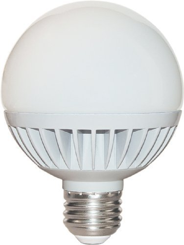 Satco S9053 8 Watt (40 Watt) 430 Lumens G25 LED Warm White 3000K Light Bulb, Dimmable by Satco