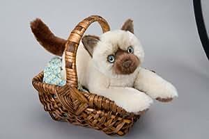 Douglas Cuddle Toys - Gato himalayo de peluche
