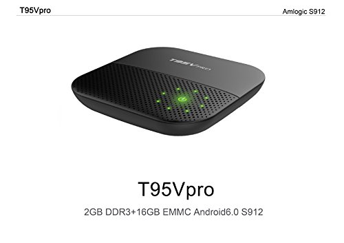 zbfyzq T95V PRO S912 Set top Box Octa core hd Network Player Android 6.0 2G 16G TV Box by zbfyzq (Image #3)