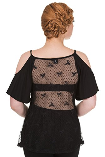 Banned - Camiseta sin mangas - para mujer negro