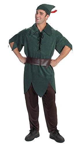 5964 (XL 42-46) Peter Pan Classic Adult Costume (Peter Pan Costume Men)