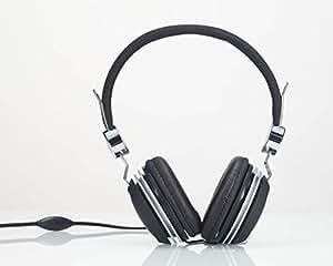 Premium Over-Head Stereo Headset Headphones with Microphone for Nokia Lumia Icon/ / Lumia 1020/ N1 Nokia Lumia 630/ Lumia 635/ XL/ X/ X+ (Silver) + MYNETDEALS Stylus