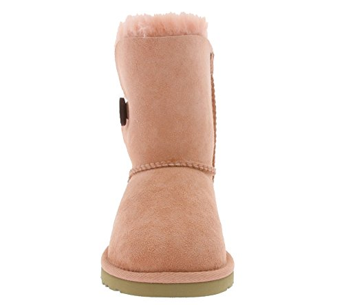UGG Australia K Bailey Button Schuhe Kinder Boots Stiefel Rosa 5991 K/CSPK