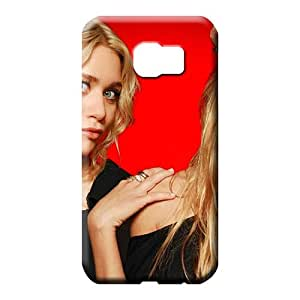 samsung galaxy s6 edge Ultra Plastic fashion phone skins ashley and mary kate olsen twins