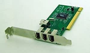 SYBA PCI to FireWire 3 + 1-port Controller Card w/ Cable [OEM] SD-PCI-4F-G