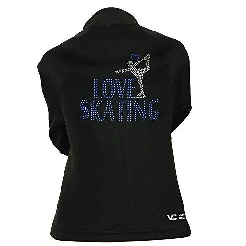 Victoria's Challenge Skating Jacket VJ2 Skater Love Skating