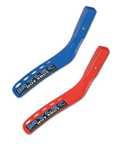 Mylec Hot-Shot Jet-Flo 18x12 Small Hockey Replacement Blade (Right, Blue) - Ice Hockey Stick Replacement Blade