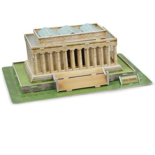 (3d Lincoln Memorial Washington Dc Puzzle Model Kit)