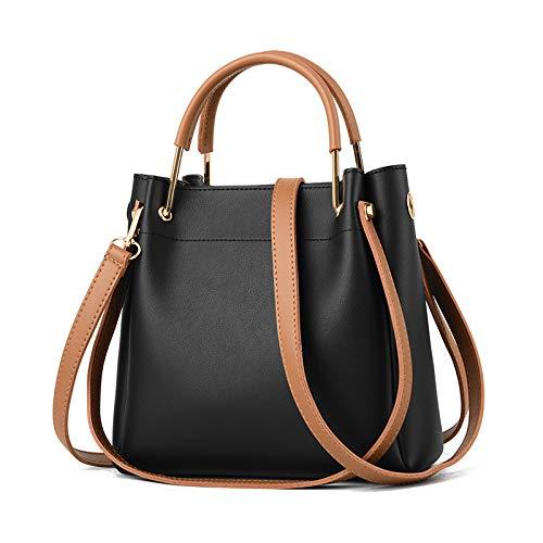 Elegante voor Beige Messenger Handtas Bag Minimalistische Yukun Zwart Dames Dames Dames TngqIP