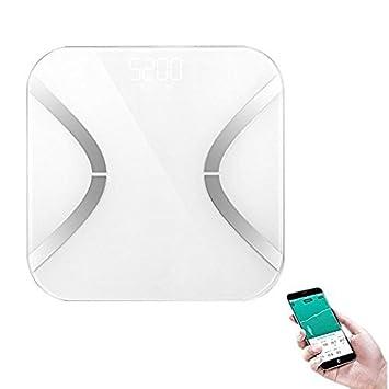 Bigaint báscula digital medidora de grasa, análisis de grasa corporal, sincronización de los datos de peso con el teléfono: Amazon.es: Electrónica
