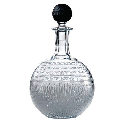 Haus Black Liquor (Wedgwood Iconic Crystal Round Decanter and Black Jasper Stopper)