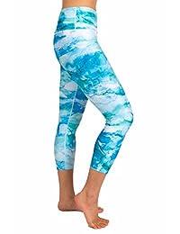 Inner Fire Ocean Dream Capri Yoga Pants