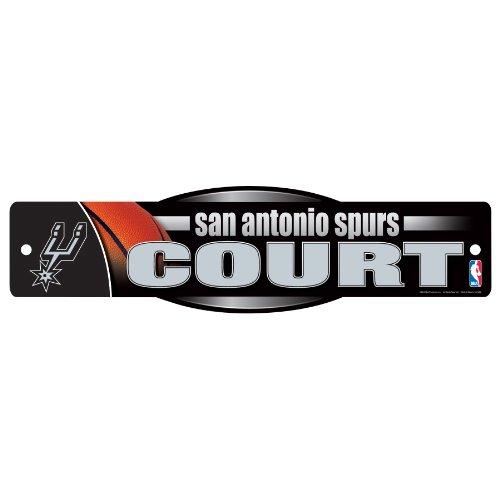 WinCraft NBA San Antonio Spurs Sign, 4.5 x 17-Inch by WinCraft