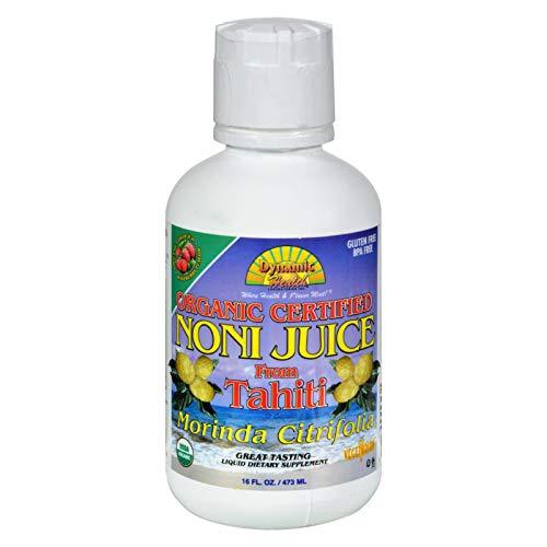DYNAMIC HEALTH LABORATORIES INC Organic Tahitian Noni Raspberry Flavor 16 ()